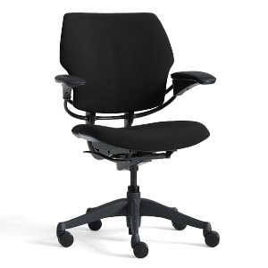 Humanscale® Freedom Task Swivel Desk Chair - Best Office Chair for Sciatica: Freedom Chair