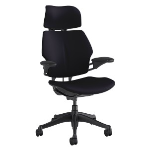 Humanscale® Freedom Chair with Headrest - Best Office Chair with Headrest: Fully Cushioned Chair