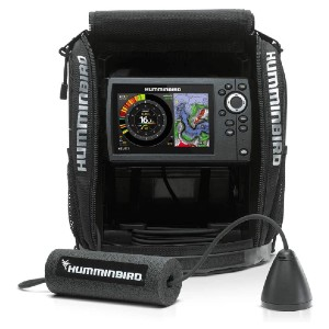 Humminbird ICE H5 HELIX 5  - Best Fish Finders for Ice Fishing: Dual Spectrum CHIRP Sonar