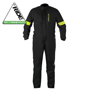 Alpinestars Hurricane Waterproof 1 Piece Over Suit  - Best Raincoat for Motorcycle Riders: Great Visibility Raincoat