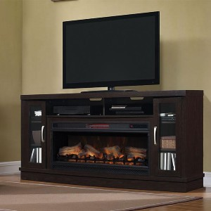 ClassicFlame Hutchinson Infrared Electric Fireplace  - Best Electric Fireplace TV Stand: Makes everyone jealous