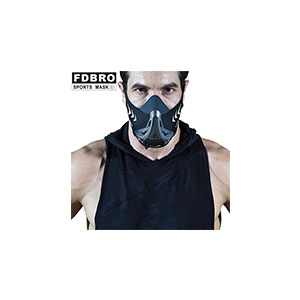 Fypxd Hypoxic Breathing Resistance Mask for Running Fitness Training, Cardio Mask for Professionals - High Altitude Elevation Simulation Trainer (6 Altitude Levels) - Best Masks for Working Out: Widely Suitable for All Kinds of Sports.