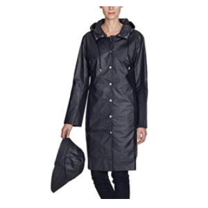ILSE JACOBSEN Women's Raincoat - Best Raincoats for Women: Elastic Band For Secure Fit