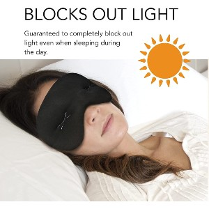 IMAK Compression Pain Relief Mask and Eye Pillow - Best Sleep Mask for Blocking Light: Cooling Eye Mask
