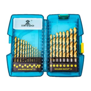 INTOO Industry M2 Drill Bit Set - Best Drill Bits for Stainless Steel: Ware-Resistance and Durability