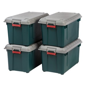 IRIS USA SIA-760D Store-It-All - Best Storage Containers for Moving: Unmatched security