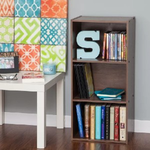 IRIS USA Standard Bookcase - Best Bookcases for Small Spaces: Simple Low Bookcase