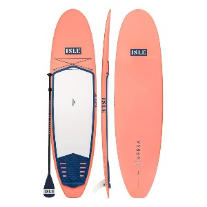 ISLE Versa Rigid Stand Up Paddle Board  - Best Paddleboard for Surfing: Versatile all-around SUP