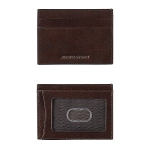 Johnston & Murphy ITALIAN LEATHER WEEKENDER CASE - Best Card Holders for Men: Small and Compact
