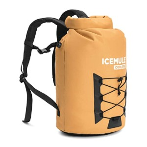 IceMule Pro Cooler - Best Insulated Cooler Backpack: This one can float!