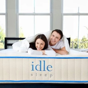 Idle Latex Hybrid - Best Latex Hybrid Mattress for Side Sleepers: Healthier Sleep For You, Healthier For the Planet