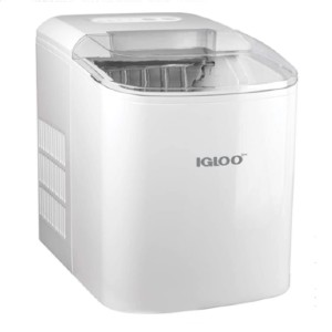 Igloo Automatic Portable Electric Countertop Ice Maker Machine - Best Portable Ice Maker: Ice Maker with Transparent Lid