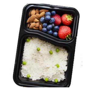 Igluu 2 Compartment Meal Prep Food Containers - Best Food Storage Container: Premium quality