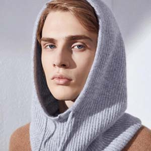 ilcaldo Mens hood scarf - Best Scarves for Winter: Useful in practicality