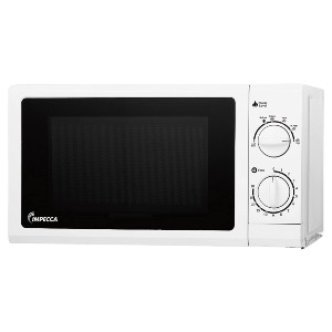 Impecca CM0674 700-Watts Countertop Microwave Oven - Best Microwave for Seniors: Remarkably easy to use