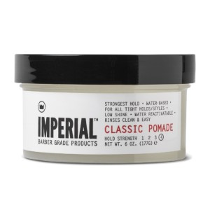 Imperial Barber Classic Pomade - Best Pomade for Thin Hair: Easy Re-Styling with Just a Bit of Water
