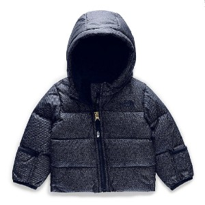 The North Face Infant Moondoggy 2.0 Down Jacket - Best Winter Coat for Babies: Elastane Binding on Cuffs and Hem