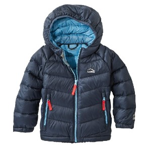 L.L.Bean Infants' and Toddlers' Ultralight 650 Down Jacket - Best Winter Coat for Babies: Water-Resistant Ripstop Nylon Shell