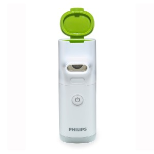 Philips Innospire Go Portable Mesh Nebulizer - Best Asthma Nebulizers: It's virtually silent