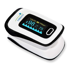 Innovo Deluxe Fingertip Pulse Oximeter  - Best Pulse Oximeter with Alarm: Six different layout