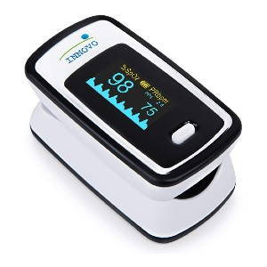 Innovo Fingertip Pulse Oximeter - Best Pulse Oximeter for Medical Use: Six different layout