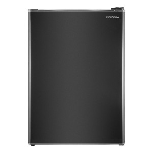 Insignia™ 2.6 Cu. Ft. Mini Fridge - Black - Best Refrigerator Without Freezer: Best for budget
