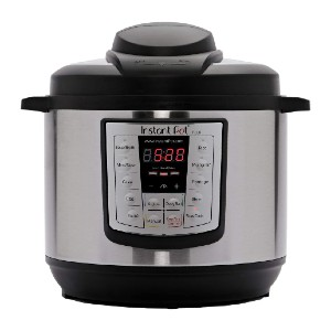 Instant Pot Lux 6-in-1 Electric Pressure Cooker - Best Gift for Young Mom: Cook up to 70% faster