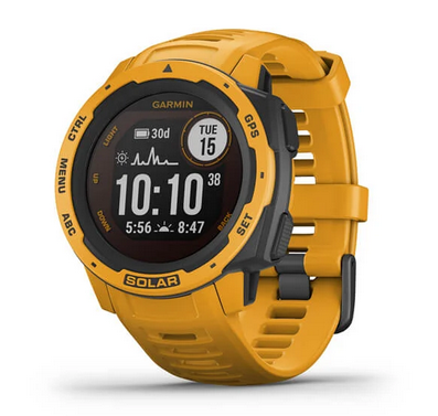 Garmin Instinct® Solar  - Best Solar-Powered Watches: Dazzling smartwatch