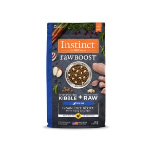 Instinct Raw Boost Dry Dog Food - Best Dog Foods to Gain Weight: Dog Food with Natural DHA
