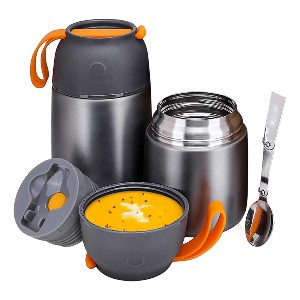 Itslife Insulated Lunch Containers Hot Food Jar - Best Lunch Box to Keep Food Hot: Attractive Thermos Hot Food Jar
