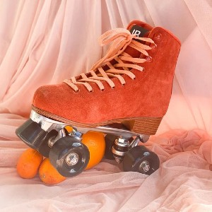 Intentionally Blank Rink Skate - Rust - Best Roller Skates Shoes: Stylish Rust Color