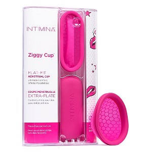 Intimina Ziggy Cup - Best Eco-Friendly Menstruation Products: Can be worn during sex