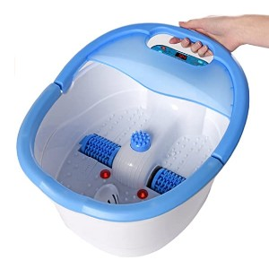 Ivation Foot Spa Massager - Best Foot Spa for Athletes: Relaxes tired feet