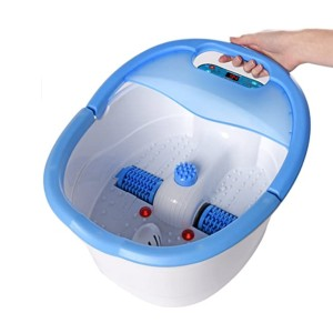 Ivation Foot Spa Massager - Best Foot Spa for Hard Skin: Millions of soothing bubbles