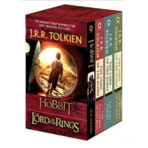 J.R.R. Tolkien 4-Book Boxed Set: The Hobbit and The Lord of the Rings - Best Fantasy Book Series of All Time: Epic stories