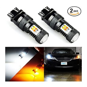 JDM ASTAR Extremely Bright 3030 Chipsets White/Yellow - Best LED Turn Signal Lights for Cars: Noticeable turn signal