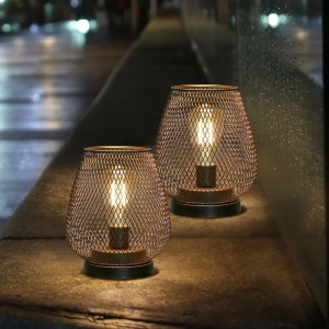 JHY DESIGN Battery Powered Outdoor Table Lamp (Set of 2) - Best Outdoor Patio Lights: Table Lamp