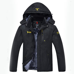 JINSHI store Windproof Rain Jacket - Best Raincoats for Cold Weather: Raincoat Jacket with Inner Pockets