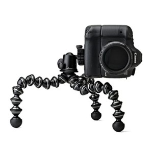 Joby GorillaPod Focus with Ballhead X Bundle - Best Portable Tripods for DSLR Camera: Super strong grip