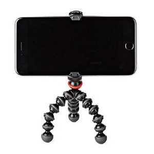 Joby GorillaPod Mobile Mini - Best Portable Tripods for Smartphone: Compact and lightweight