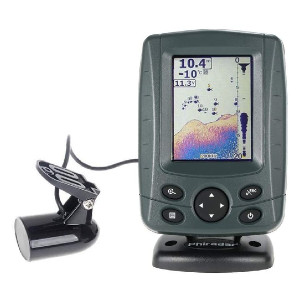 Phiradar Color LCD Boat Fish Finder - Best Fish Finders for Small Boats: Sunlight Readable Fish Finder
