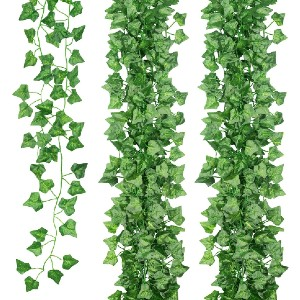 JUNGLE ELF Vine Ivy Leaves  - Best Artificial Plants for Outdoors: Does Not Require Any Sort of Special Care
