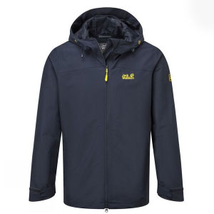 Jack Wolfskin Mens Oban Sky - Best Rain Jackets for Heavy Rain: Light to Wear and Comfortable