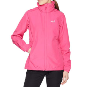 Jack Wolfskin Women's Stormy Point  - Best Raincoats for College Students: Super Light and Breathable