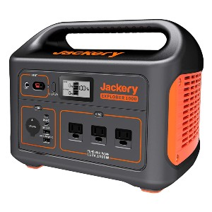 Jackery Explorer 1000 - Best Portable Power Station with Solar Panels: Four ways of recharging
