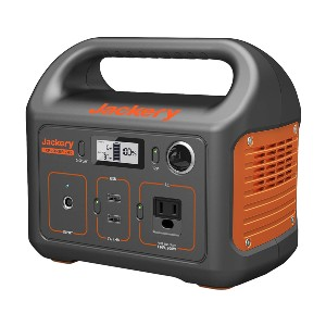 Jackery Explorer 240 - Best Generators for Camping: Portable Power Station with Solid Handle