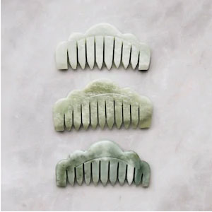 Mount Lai Jade Massaging Comb - Best Hair Brushes: Cruelty-free and Gluten-free Material