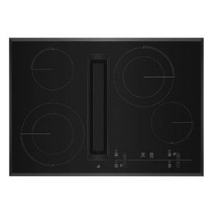 JennAir JED4430KB Electric Cooktop Black - Best Cooktops with Downdraft: Spacious cooktop