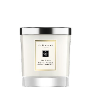 Jo Malone Red Roses Home Candle - Best Rose Scented Candles: Fresh Rose and Bright Lemon