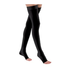 Jobst Relief Thigh Highs Open Toe - Best Thigh High Compression Socks: Reinforced Heel for Added Durability